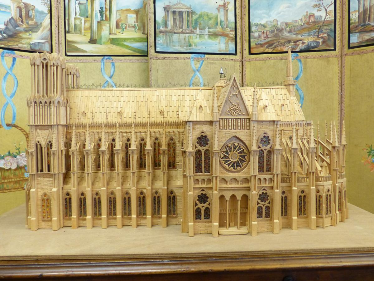 Head D Artwork Model Gothic Cathedral .compagnon-photo-4