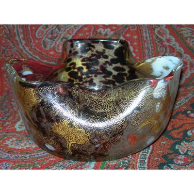 Vase  Par Ernest Leveille XIX Cf Exposition Universelle