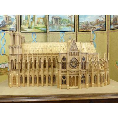 Head D Artwork Model Gothic Cathedral .compagnon