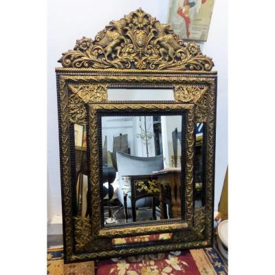 Large Mirror A Parecloses Period Charles X Napoleon 3 Napoleon III Parcloses Louis XIV Style