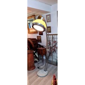 Grande Lampe ėpoque 60/70 Design Vintage Lampadaire Luminaire Salon