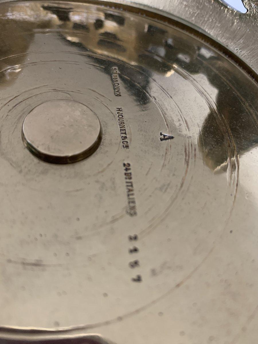 Vasque En Onyx Et Bronze De H. Journet & Cie-photo-4