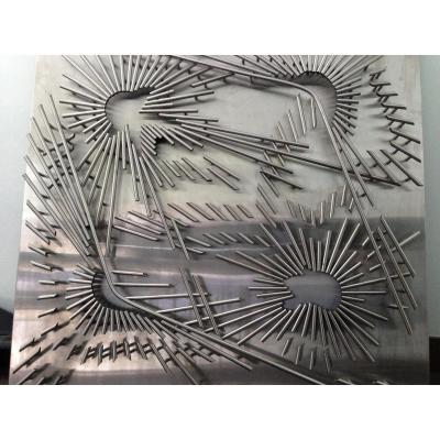 Tableau Sculpture Inox Sernesi Circa 1970