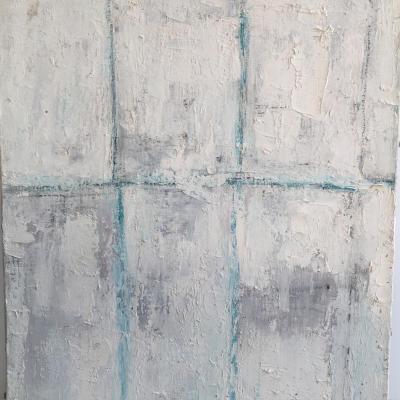 Composition Abstraite, Madeleine Grenier, Circa 1970