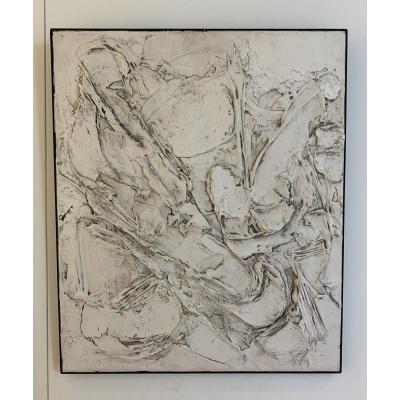 composition abstraite de Robert Perot