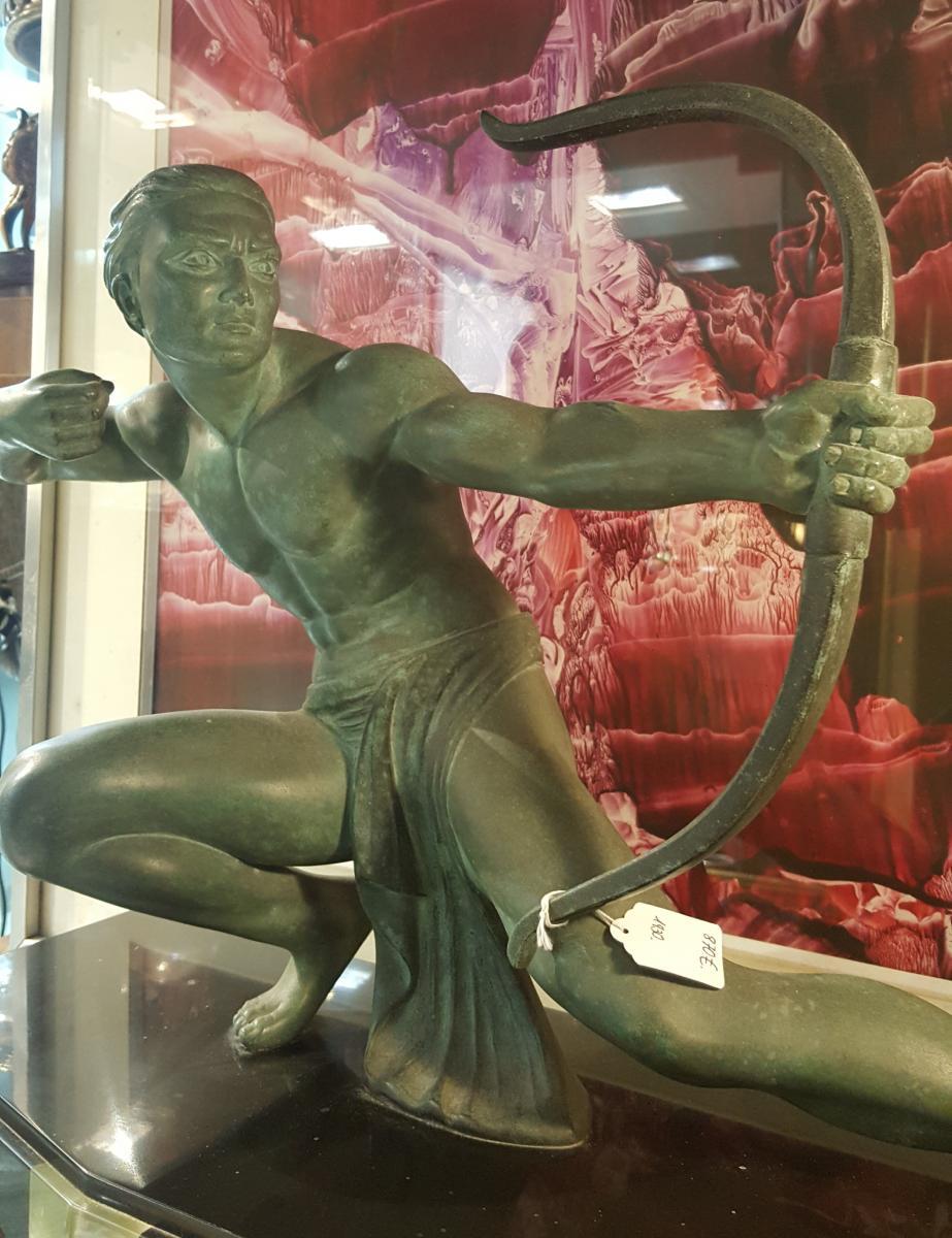 Art Deco Figure Of Salvatore  Melani