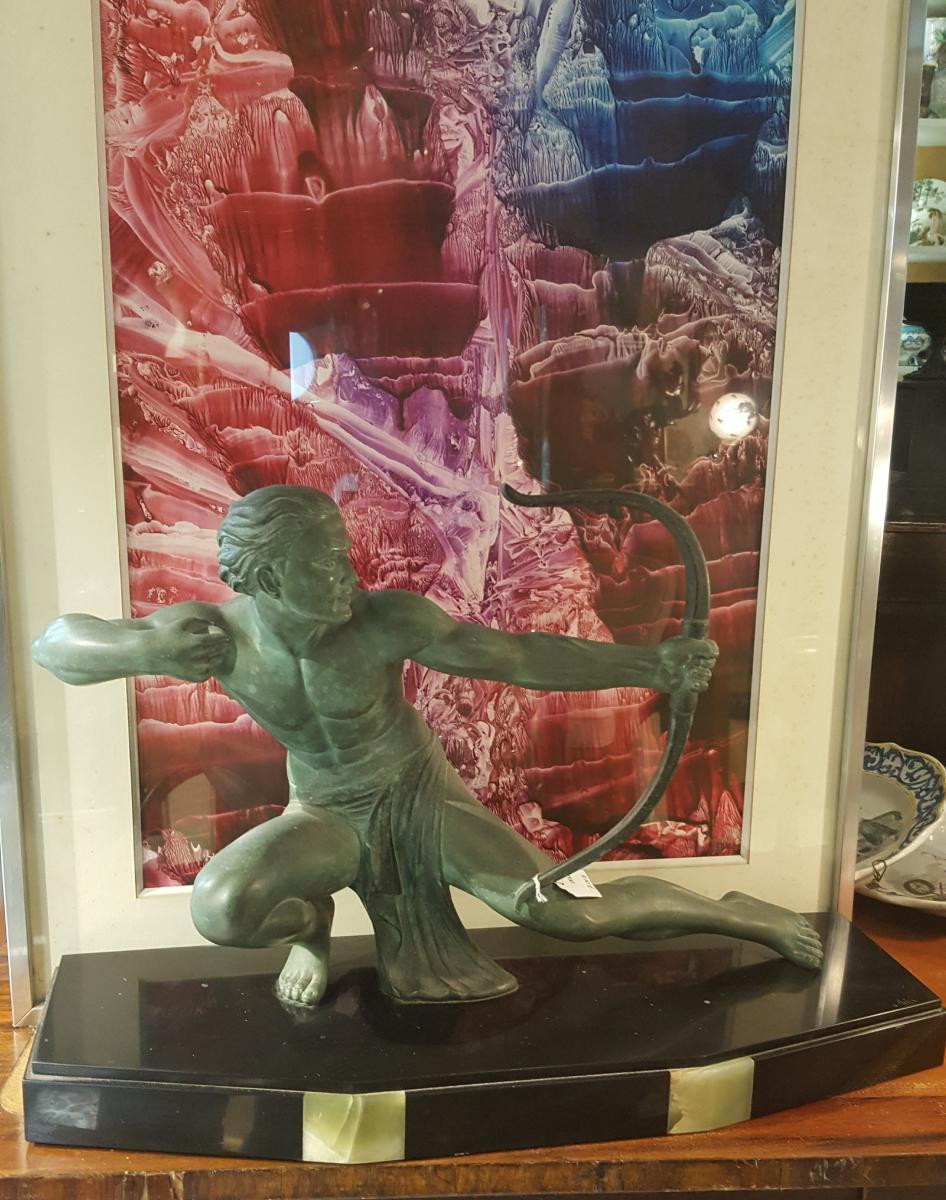 Art Deco Figure Of Salvatore  Melani-photo-2