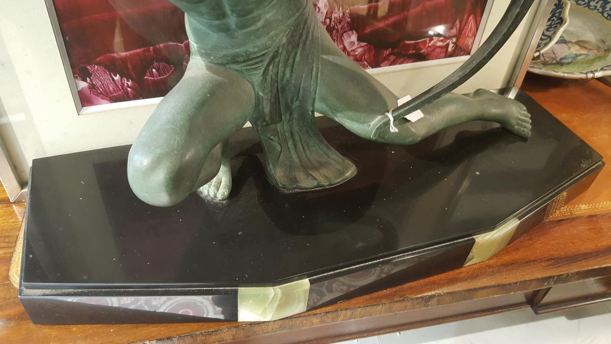 Art Deco Figure Of Salvatore  Melani-photo-4