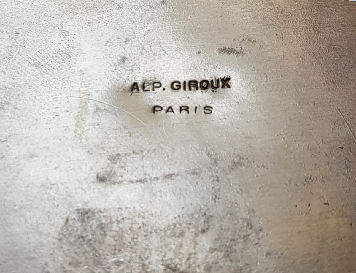 Coffret En Bronze Doré Et Emaux Cloisonnés Alphonse Giroux Paris -photo-5