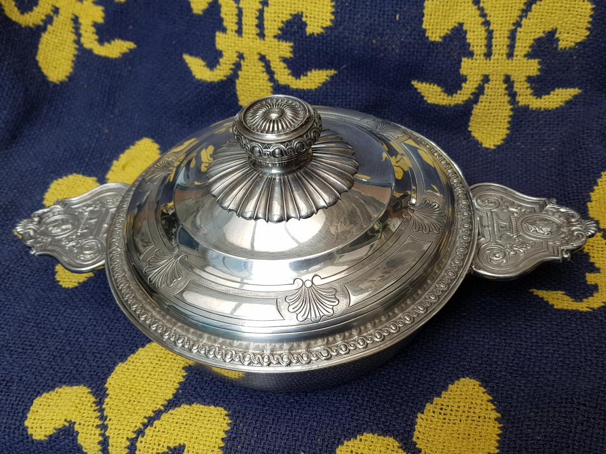 Covered Bowl Style Louis XIV Decorations Profiles Henin & Cie