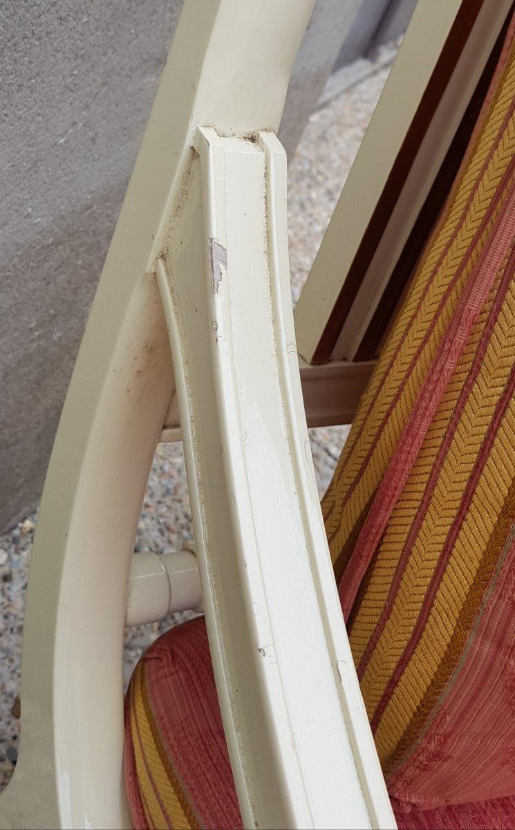 Paire De Larges Fauteuils Maison Roméo Empire Néo Classique-photo-3