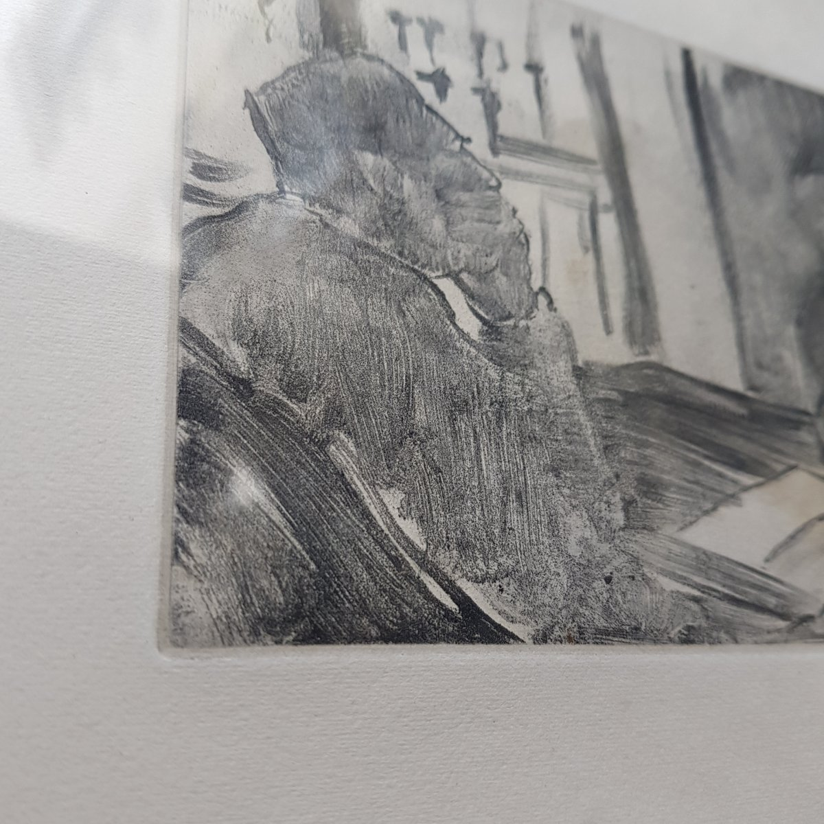 2 Gravures d'Ap. Edgar Degas (1834-1917) Gravé Par Maurice Potin -photo-1