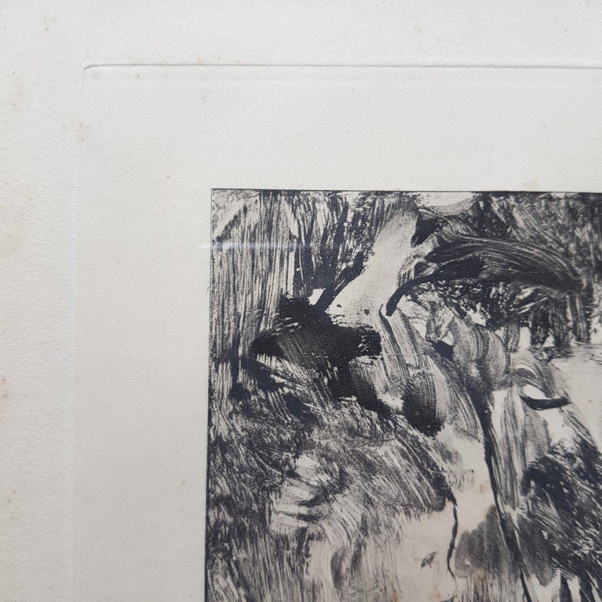 2 Gravures d'Ap. Edgar Degas (1834-1917) Gravé Par Maurice Potin -photo-7