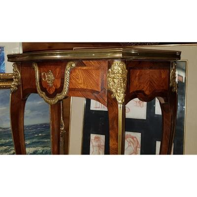 Table Signew Alix Regency Style After Charles Cressent Or Étienne Doirat