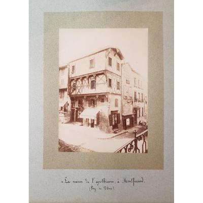 Recueil De Photographies N°3 De 1886 Auvergne,gévaudan Et Touraine