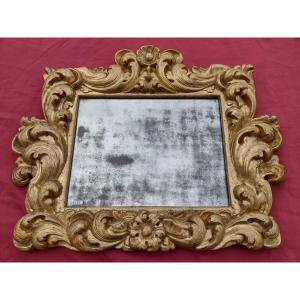 Miroir émilien du XVIIe siècle