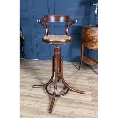 Thonet: Revolving Chair For Children, Art Nouveau Period