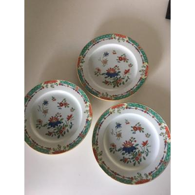 Three Plates East India Company XVIII