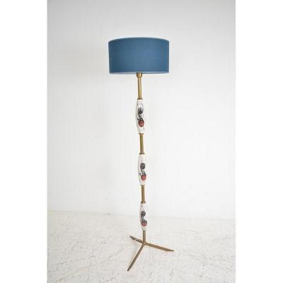 Lampadaire vintage, datant des années 60