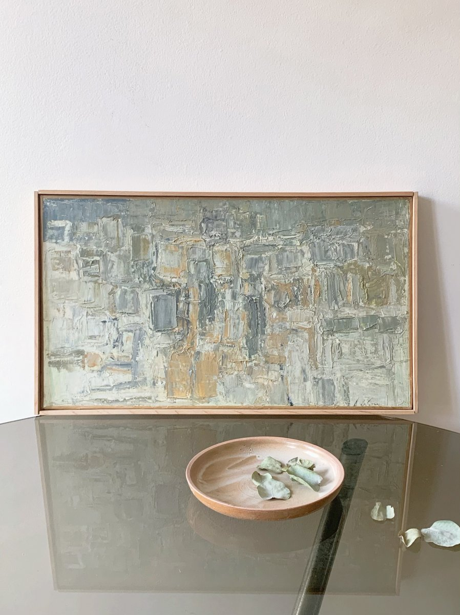 Georges Adilon (1928-2009) - Les Graniers, Golden Light, 1960s