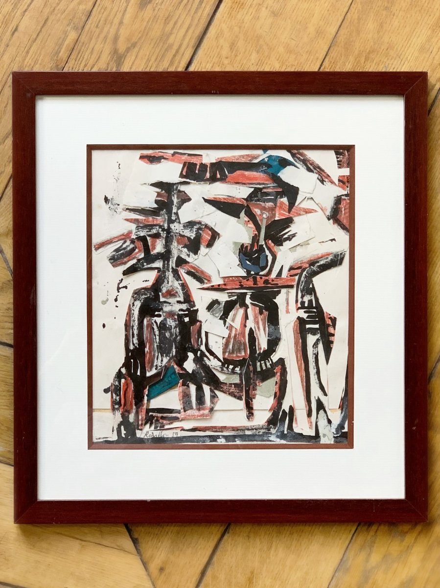 Suzanne Rodillon (1916-1988) - Abstract Composition, 1959