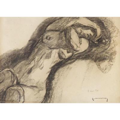 Pierre Combet-Descombes (1885-1966) - Nu féminin, 1929