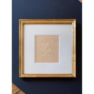 Federico Kromka (1890-1942) - Composition abstraite, Circa 1920