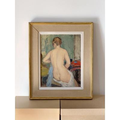 Madeleine Plantey (1890-1985) - Nu féminin de dos