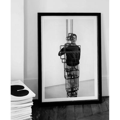 Patrick Chelli (né en 1955), Portrait d'Antony Gormley, sculpteur, 1/5