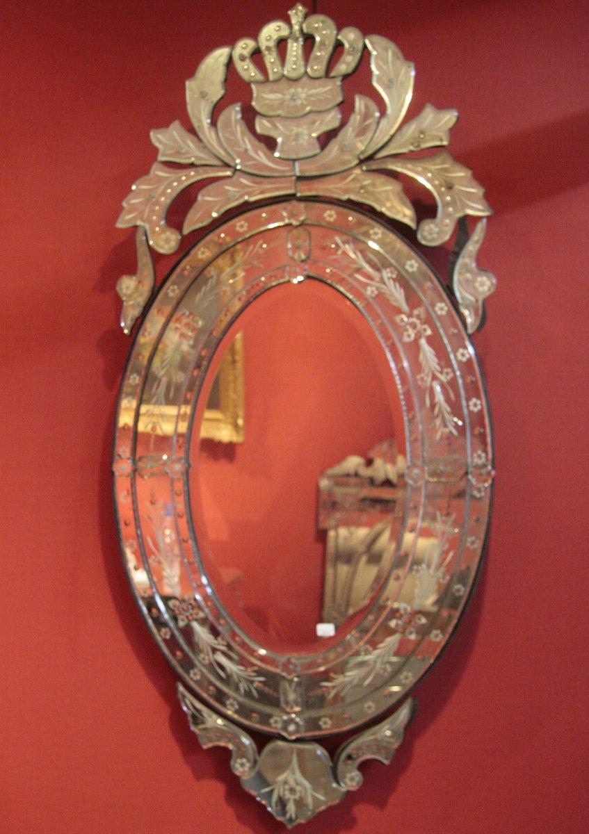 Miroir Vénitien Ovale