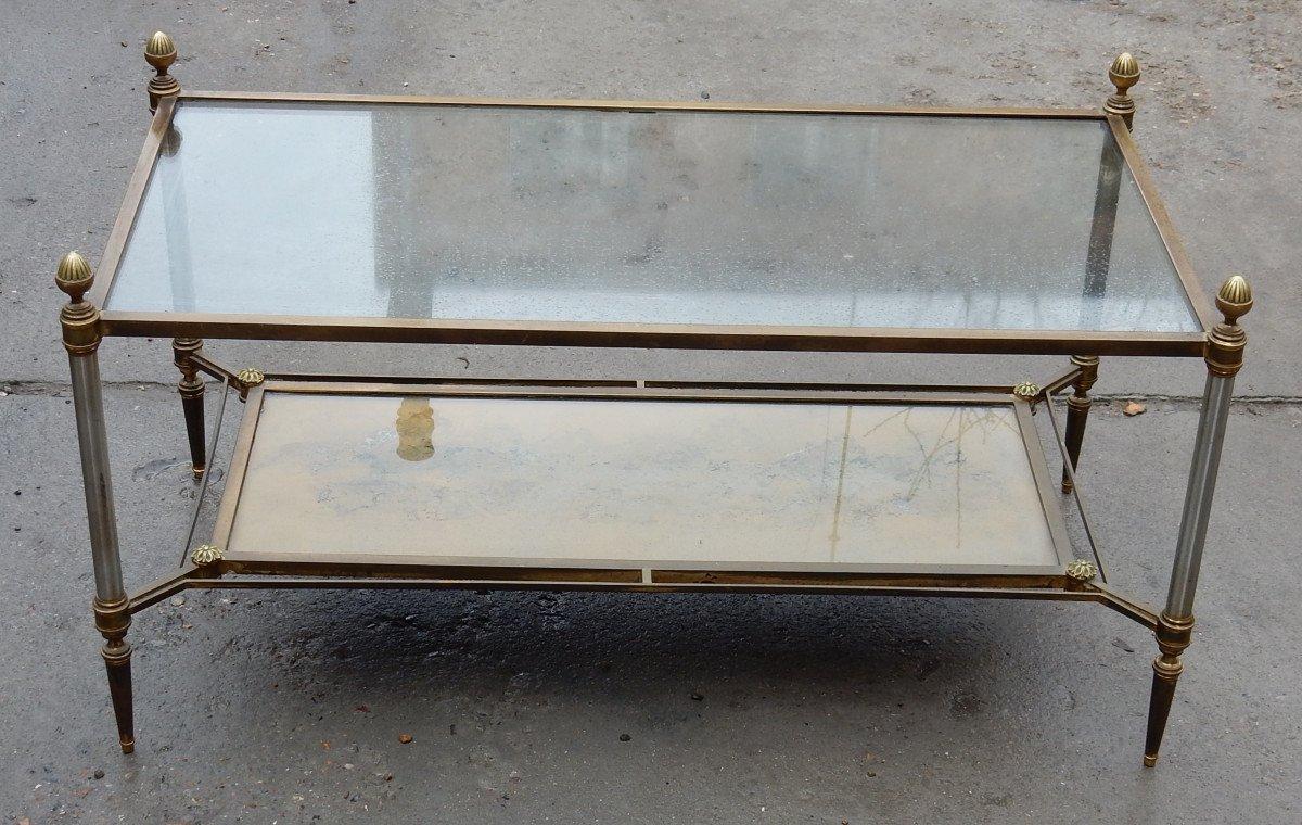 1950/70 ′ Maison Jansen Coffee Table 93 X 49 X H49 Cm-photo-2