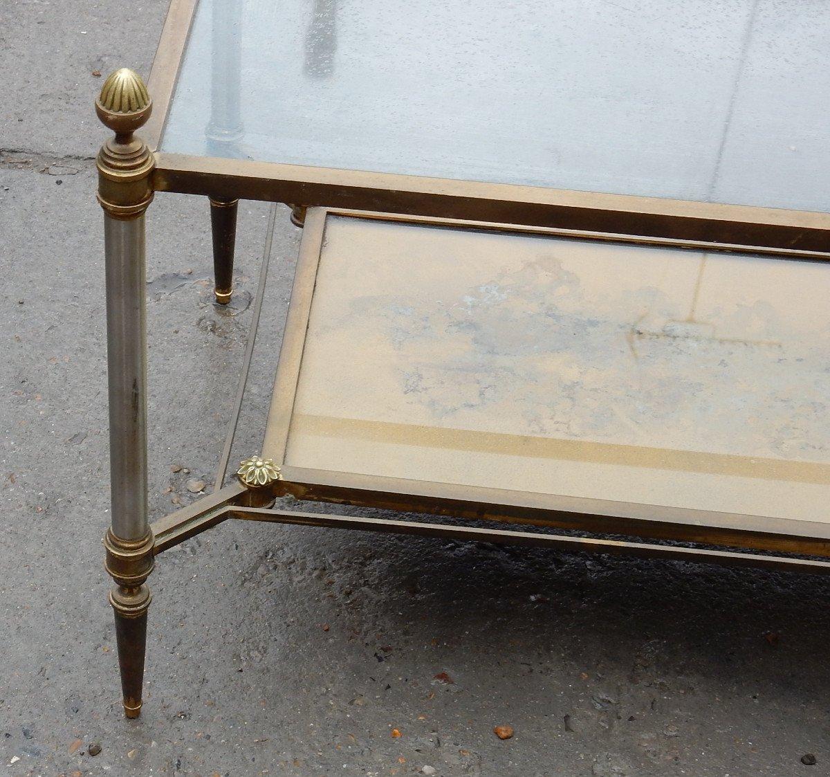 1950/70 ′ Maison Jansen Coffee Table 93 X 49 X H49 Cm-photo-4