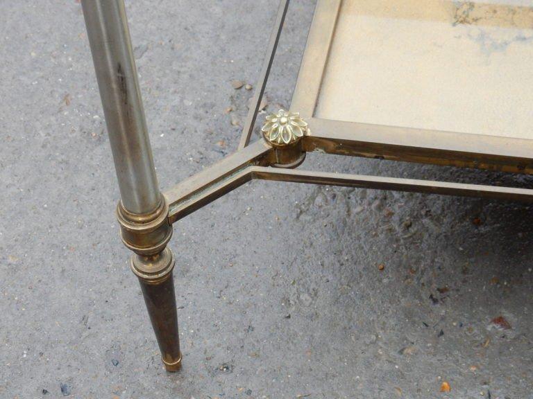 1950/70 ′ Maison Jansen Coffee Table 93 X 49 X H49 Cm-photo-1