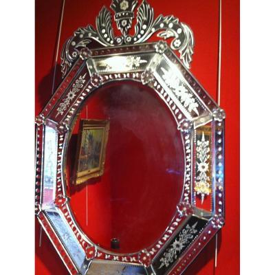 Miroir Vénitien Octogonale