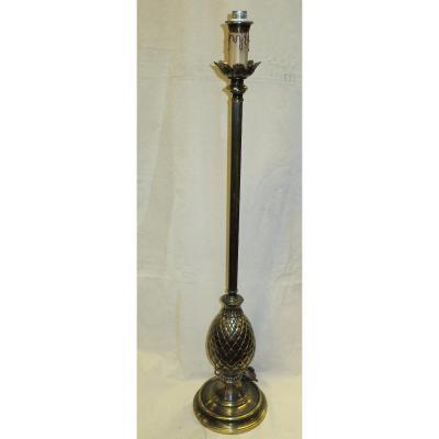 1950/70 ′ Pineapple Floor Lamp In Bronze St Maison Charles