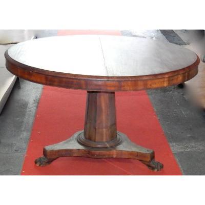 1880 Tilting Mahogany Pedestal
