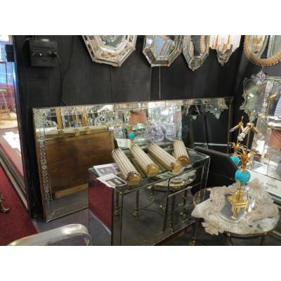 1900 ′ Rectangular Venetian Mirror 3m71 X1m24 Cm