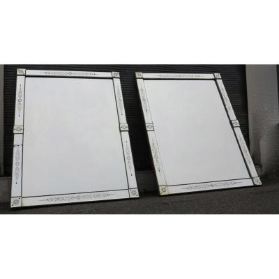 1900 ′ Pair Of Mirrors Venice 160 X 120 Cm