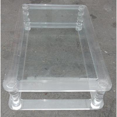 1970' Table Basse Altuglas Romeo 1m00x1m60
