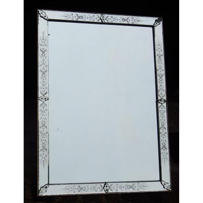 1900 ′ Venice Flower Mirror 162 X 120 Cm