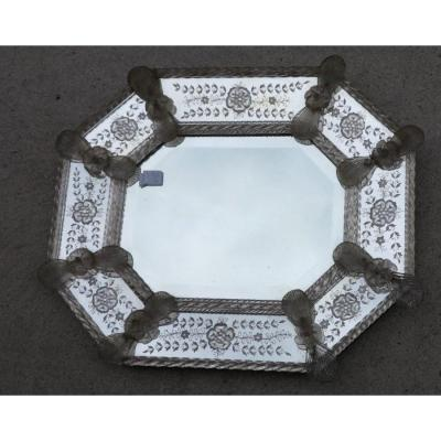 Miroir Murano Octogonal A Parecloses