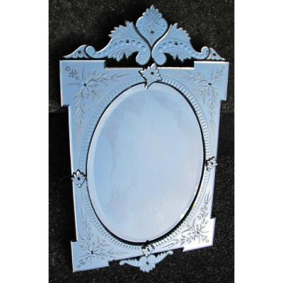 1950 'venetian Mirror Pareclose