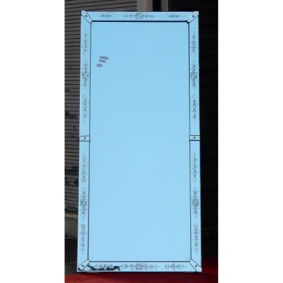 1970 ′ Venice Mirror With Flowers 181 X 80 Cm