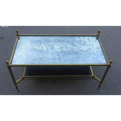 1970′ Table Basse Maison Jansen 93 X 48 Cm