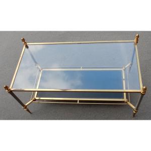 1950/70′ Table Basse Maison Jansen 93 X 48 Cm