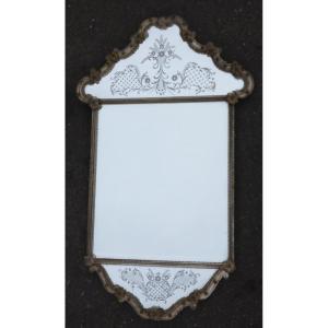 1950 ′ Mirror Murano Véronèse 100 X 60 Cm