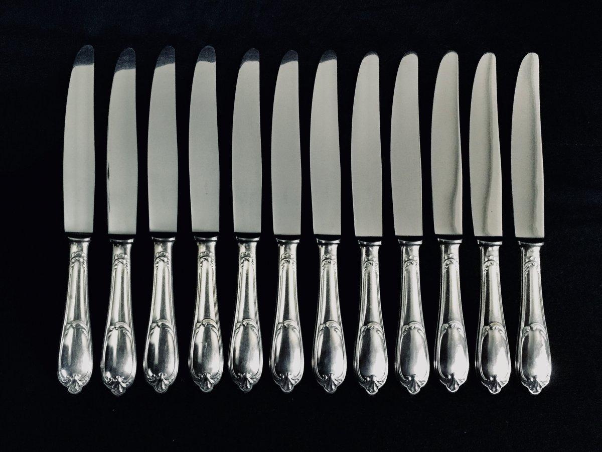 12 Couteaux De Table Maison Ercuis