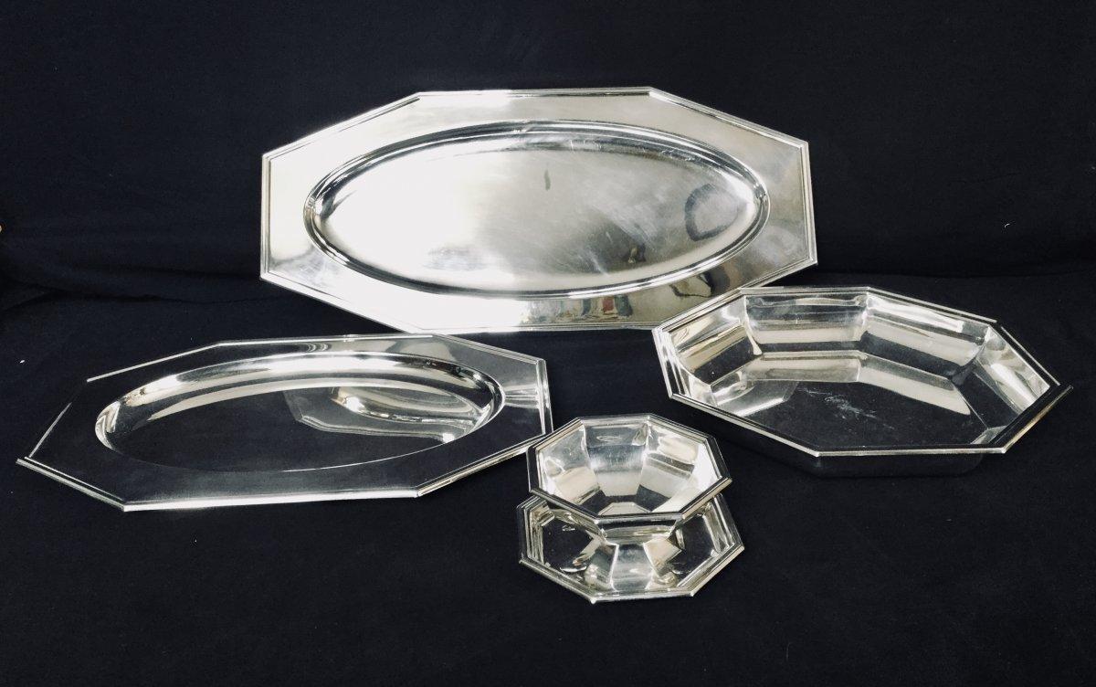 Set Of Dish From Maison Fleuron Christofle