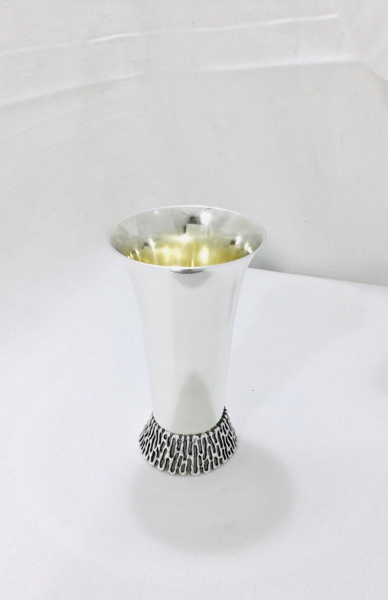 Israel - Timpani In Silver And Vermeil