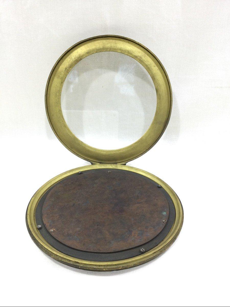 Cadre Photo En Bronze Napoléon III-photo-2